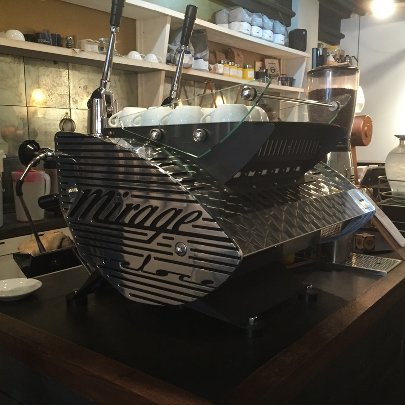 Mirage Espresso Maker at Underline Coffee