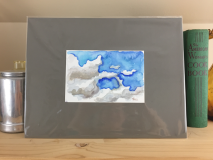 Cloud Arabesque Watercolor